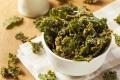 Homemade Green Kale Chips