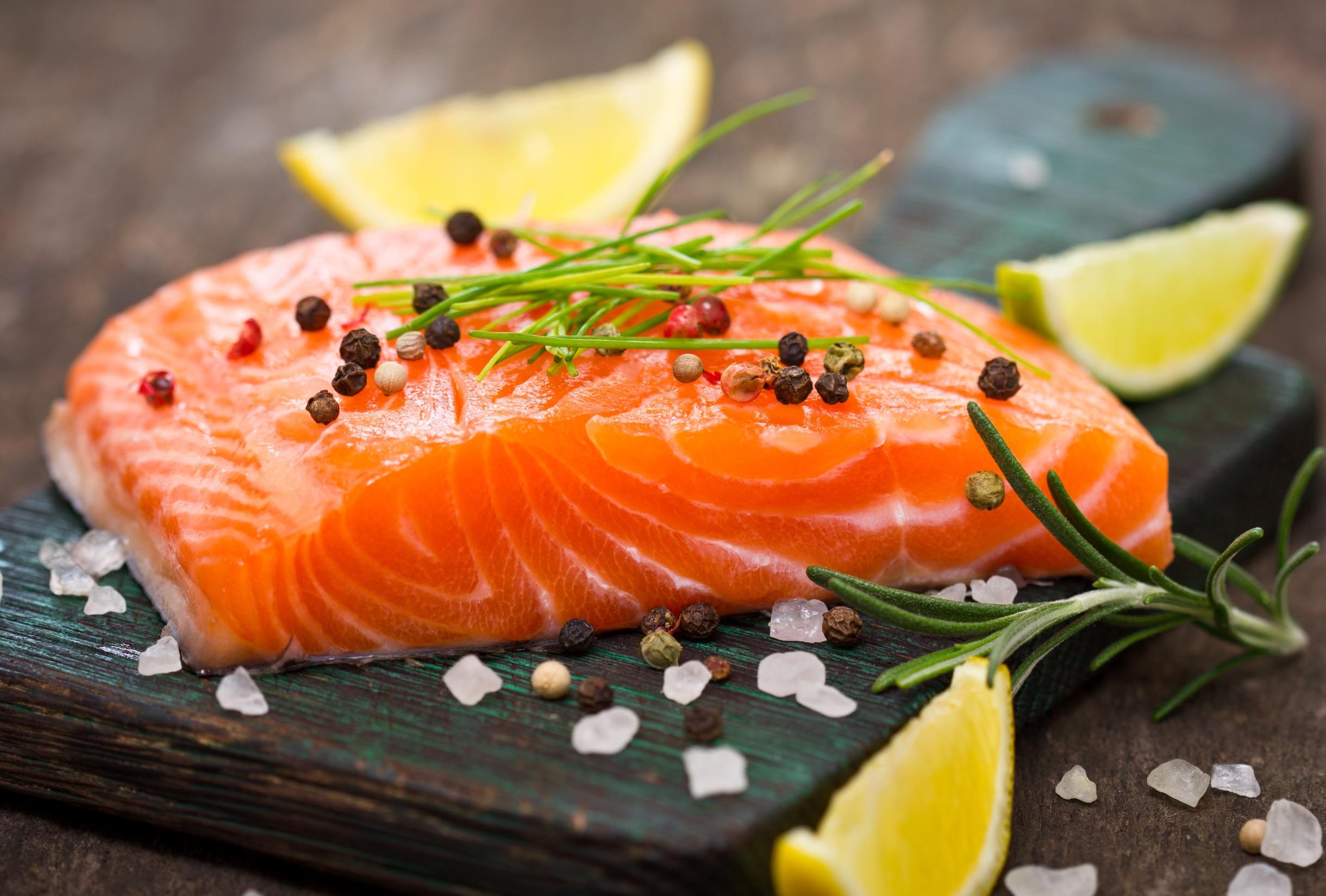 DMFresh salmon
