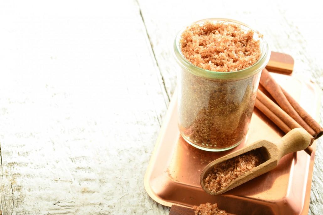 DMBody scrub - brown sugar with cinnamon