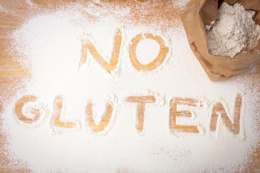 BM_the words NO GLUTEN written on gluten free flour_80493445